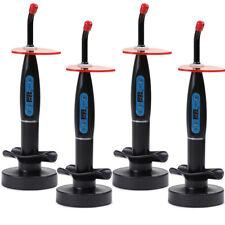 New 2 Pcs Dental 10w Wireless Cordless Led Curing Light Lamp 2000mw Us