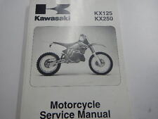 2003-2007 KAWASAKI KX125 KX250 OWNER REPAIR MANUAL KX 125 250 99924-1298-06