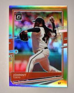 2020 Donruss Optic Holo #122 Johnny Cueto - San Francisco Giants