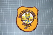 Old New Castle County Delaware Police Department Patch (T3)