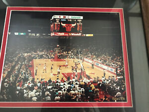 RARE Original Michael Jordan 1991 NBA Finals FRAMED Photo Bulls vs Lakers Schuth
