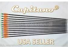 """32""""-12 Capitano® Fiberglass Target Practice Arrow Replaceable Screw-In Tips 81CM"""