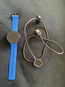 Polar Vantage M Medium/Large Sport Watch with Silicone Band -  Blue