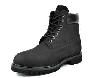 Arctiv8 Mens Classic Premium Full-Grain Leather Rubber Sole Soft Toe Work Boots