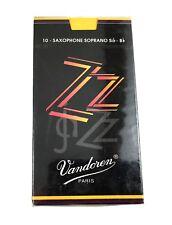 Vandoren Saxophone Soprano ZZ Reeds 4.0 Eb 10-Pack