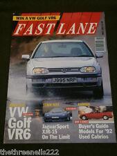FAST LANE - VW GOLF VR6 - MAY 1992