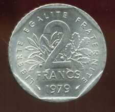2 francs 1979 NICKEL  semeuse  ( SPL )   ( bis )