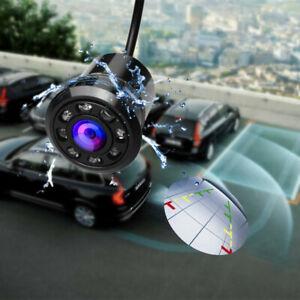 Car 18.5mm Drill Rear View CCD Camera Reversing Parking Monitor LED Drill