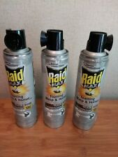 RAID 17.5-Oz. Wasp and Hornet Killer Foaming Spray, 3 Cans NEW.- SHIPS FREE!