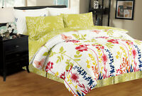 Selena 8-PC Twin-Full-Queen-King Bed Comforter Set w/ Sheets & Pillowcases