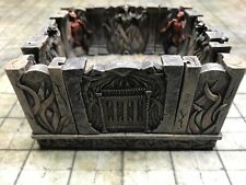 NEW Dwarven Forge Painted Resin Den of Evil 4 x 4 Intersection w/ 4 inserts D&D
