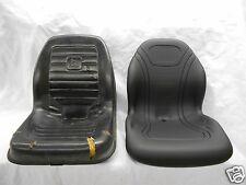 BLACK JOHN DEERE SKID STEER LOADER SEAT 270 325 328 AT327447 KV24167 #BB