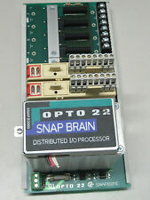 OPTO 22 SNAP B3000 BRAIN W/ 2 EA.OPTO SNAP I/O SNAP-ODC5SRC & SNAPB8MC