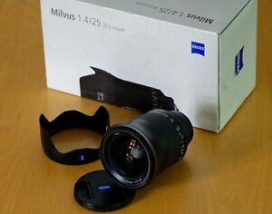 ZEISS Milvus 25mm f/1.4 ZF.2 for Nikon