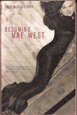 BECOMING MAE WEST (2000) Emily Wortis Leider - Da Capo Press TPB - BIOGRAPHY