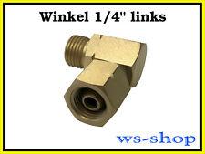 "Verbindungswinkel Winkel 90° für Propan Gasgrill 1/4"" links (kein GOK)"
