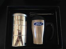 Short Travel Mug Kit - Ford In Gift Box With Accessories Approximately 4 1/2""
