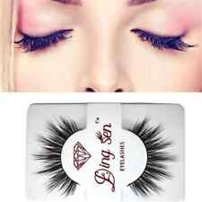 100% Real Mink Stylish Soft Long Natural Thick Makeup Eye Lashes False Eyelashes