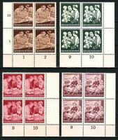 DR Nazi 3d Reich Rare WW2 Stamp Hitler Goebbels Propaganda Health Mother & Child