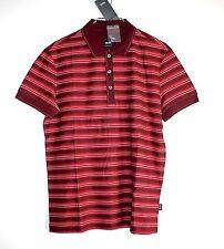Gestreifte HUGO BOSS bequem sitzende Kurzarm Herren-Freizeithemden & -Shirts