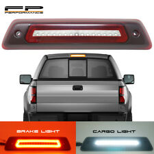 For 09-14 Ford F150 Optic Style LED 3rd Third Brake Light Cargo Lamp Red Clear