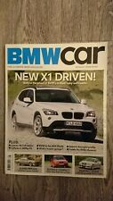 BMW CAR Magazine August 2009 Lumma X6 CLR X1 E46 Compact Hartge 325d Coupe