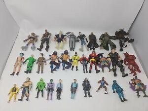 Mixed Action Figures Various Job Lot Bundle Retro Vintage Toys