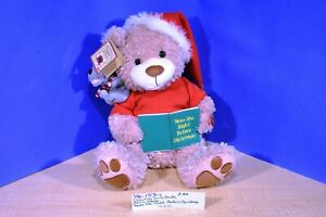 "Chantilly Lane Duets Bear and Mouse ""Twas the Night Before Christmas""(390-153-1)"