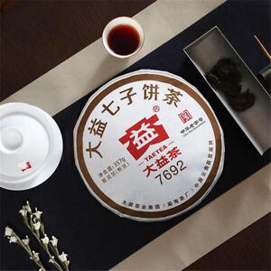 357g Ripe Puer Tea Cake Yunnan Pu Erh Tea Healthy Green Food Organic Black Tea