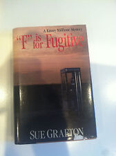 F IS FOR FUGITIVE by Sue Grafton, Signed