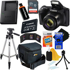 Canon Powershot SX420 IS 20MP 42x Zoom Digital Camera,Wi-Fi & NFC +11pc 32GB Kit