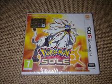 Pokémon Sole Nintendo 3DS Italiano Nuovo Sigillato
