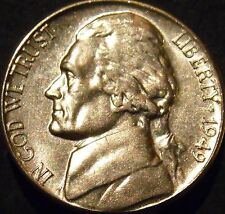 1949-S Jefferson Nickel Choice/Gem BU Uncirculated