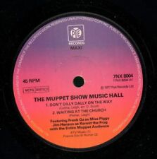 """The Muppet Show(7"""" Vinyl)Don't Dilly Dally/ The Boy In The Gallery-Pye-VG/NM"""