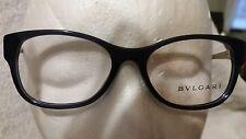 Bvlgari BV4081H 501 Eyeglasses Frames - Black - 53/17/135
