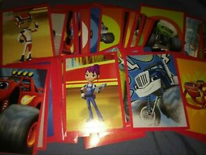 50x Blaze and the Monster Machine Stickers PANINI Party Bag Filler Reward