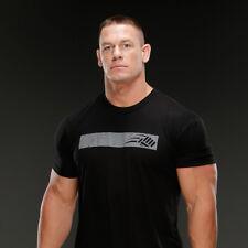 New JOHN CENA Training Logo Black T-Shirt Men's 2XL XXL Wrestling WWE ROH TNA