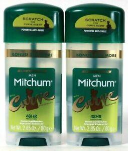 (2) Mitchum Men Special Edition Curve Fragrance Antiperspirant Deodorant 2.85 Oz