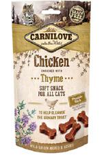 Carnilove Grain & Potato Soft Cat Treats Chicken & Thyme 50g x 2