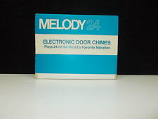 Melody 24, Electronic Door Chimes, color: WHITE, #L-13