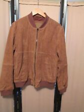 American Eagle Outfitters  AEO Goatskin leather bomber style jacket size M NWOT