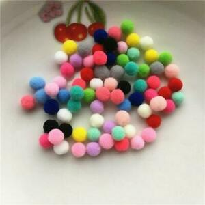 100 High Quality Hanging Pom Pom Garland Christmas Mix Colors Party Reindeer UK