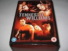 TENNESSEE WILLIAMS FILM COLLECTION - RARE 6 DVD BOX SET  Roman Spring Mrs Stone