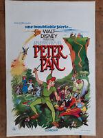 Plakat Belgischer Les Aventures aus Peter Pan Von Avonturen Van Walt Disney