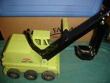 tonka six wheel shovel green