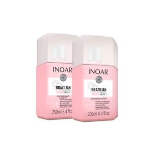 Inoar Brazilian Nano Protein Keratin Shampoo and Hair Smoothing Treatment 250ml