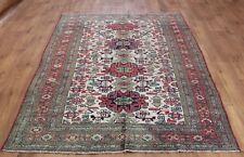 Persian Traditional Vintage Wool 228X130cm Oriental Handmade Carpet Rugs