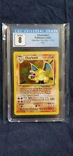Pokemon graded CGC 8 NM/MINT English Base set unlimited Charizard 4/102