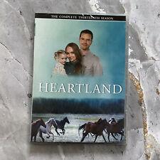 Heartland: The Complete thirteen Season 13 (3-DISC DVD) REGION 1 Fast Shipping