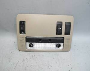 2004-2010 BMW E63 6-Series Front Headliner Ceiling Switch Unit Map Light Beige